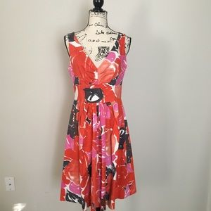 Suzie Chin sleeveless cotton summer dress.